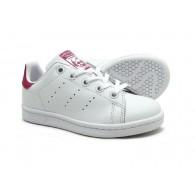 Adidas Scarpe fashion Bambina Stan smith c Bianco/fucsia Fashion