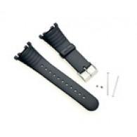 Suunto Vector strap r/black Cinturino Uomo