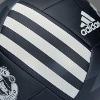 Adidas Palloni calcio Uomo Mufc fbl Nero/bianco Calcio