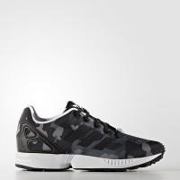 Adidas Scarpe fashion Camuflage Bambino Zx flux c Nero/grigio Fashion