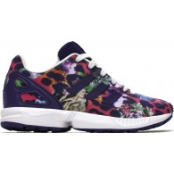 Adidas Scarpe fashion Bambina Zx flux c Viola/multicolor Fashion