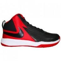 Nike Scarpe basket Bambino Team hustle d7 (gs) Nero/rosso Basket