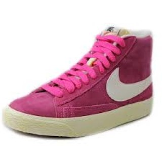 Nike Scarpe fashion Donna Blazer mid Fucsia/bianco Fashion