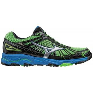 Mizuno Scarpe running trail Uomo Wave mujin 3 gtx Lime/azzurro/nero Running