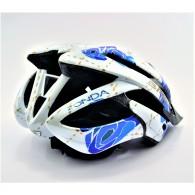 Briko Casco Uomo Zonda bike helmet Bianco/azzurro Multisport