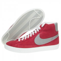 Nike Scarpe fashion Uomo Blazer mid vntg Rosso/grigio Fashion