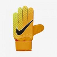 Nike Guanti portiere Uomo Gk match gloves Arancio/nero/giallo Calcio