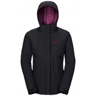 Jack wolfskin Jacket Donna Crush'n ice women Nero Multisport