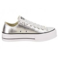 Converse Chuck taylor as lift clean metallic Scarpe tela Donna
