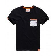 Superdry Orange label tie dye pocket tee T-shirt Uomo