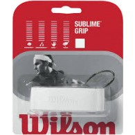 Wilson Grip Uomo Sublime Bianco Tennis