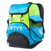Tyr Zaino Uomo Alliance team mini Turchese/lime Nuoto